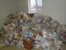 gifts for 160 families who could not attend -food from NAHA