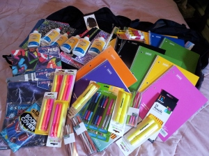 School supplies Alice
