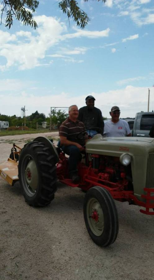 Jerome's new tractor